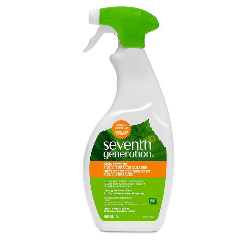 Seventh Generation Multi-Surface Cleaner - 768ml