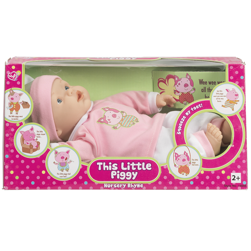 This Little Piggy Doll - 10in