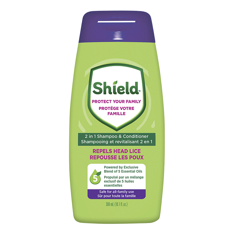 Shield Repels Head Lice 2 In 1 Shampoo & Conditioner - 300ml
