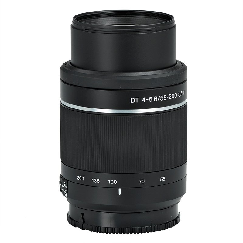 Sony 55-200mm f/4-5.6 SAM Telephoto Zoom Lens - SAL552002 - Open Box Display Model