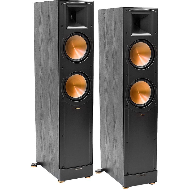 Klipsch RF82MKIIB Mark II Reference Tower Speakers - Pair - Black