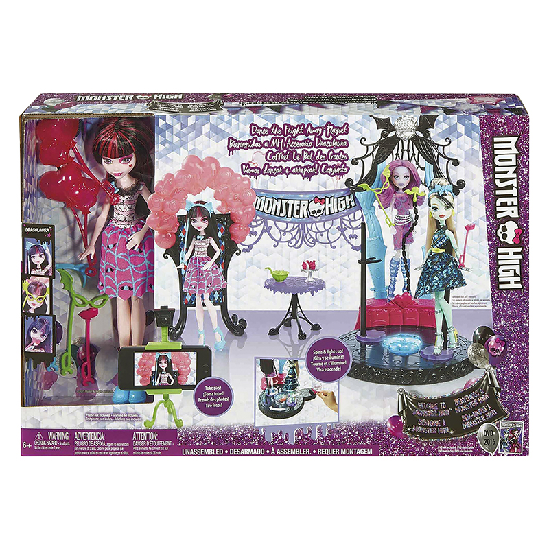 Monster High Dance the Fright Away Doll Set - Draculaura