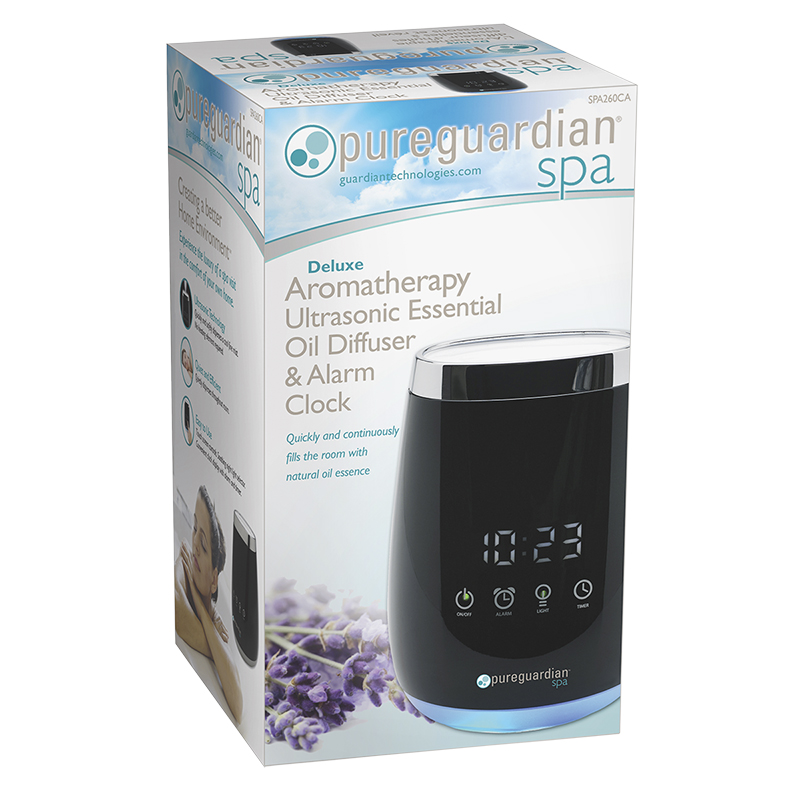 PureGuardian Spa Deluxe Aromatherapy Ultrasonic Oil Diffuser - SPA260