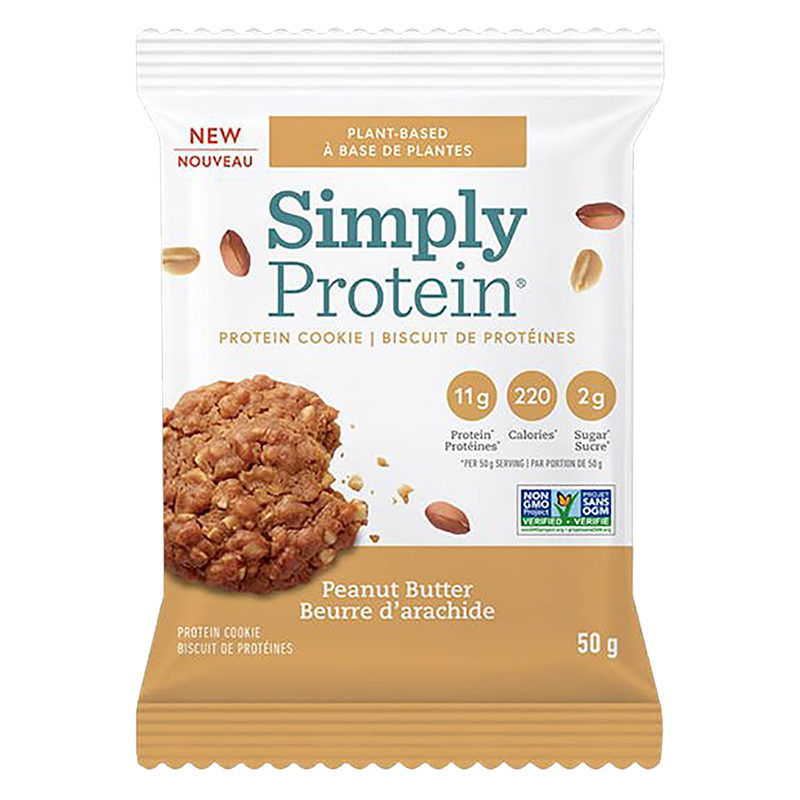 SimplyProtein Cookie - Peanut Butter - 50g
