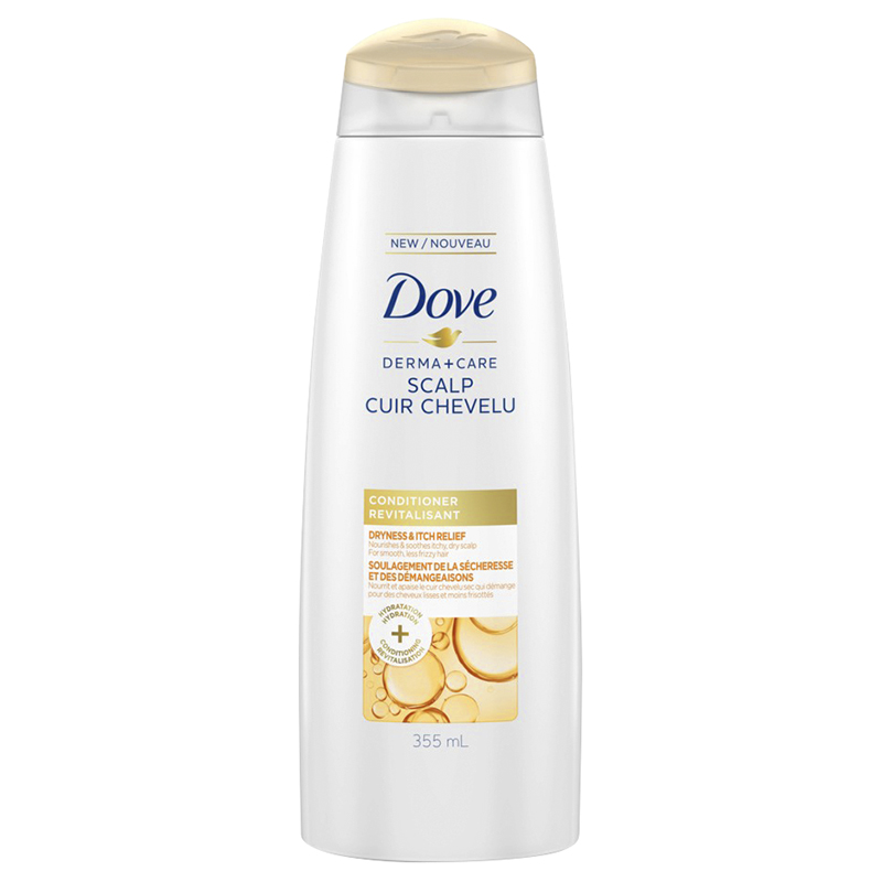 Dove Derma+Care Scalp Conditioner - Dryness & Itch Relief - 355ml