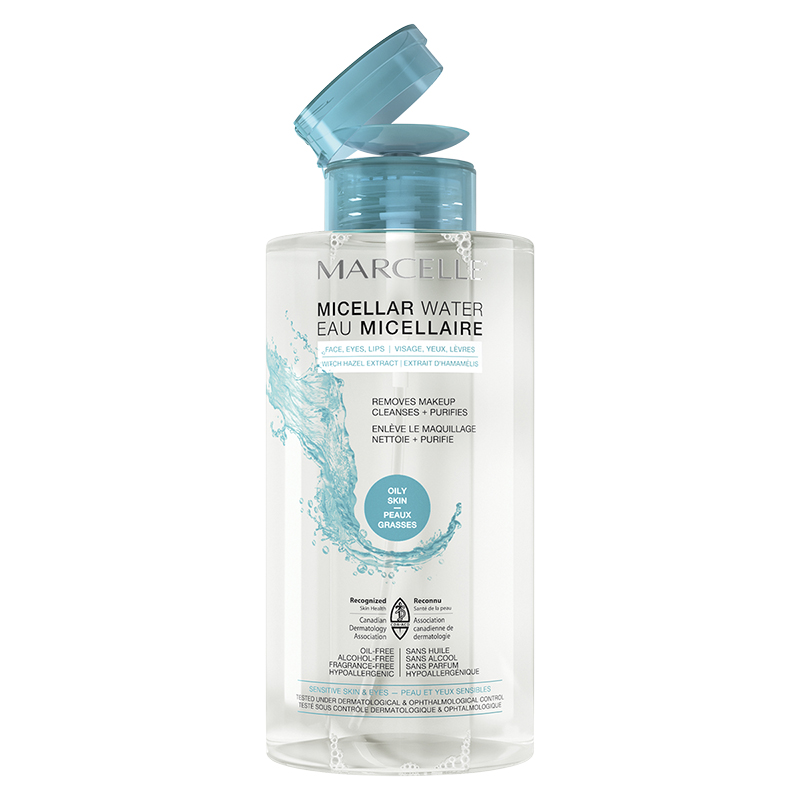 Marcelle Micellar Water - Oily Skin - 400ml