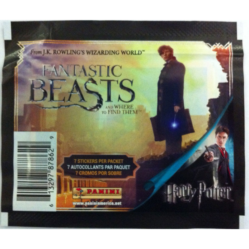 Harry Potter 8 Stickers - Fantastic Beasts