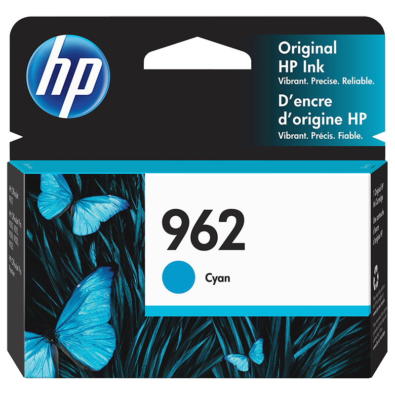 HP 962 Ink Cartridge - Cyan - 3HZ96AN#140