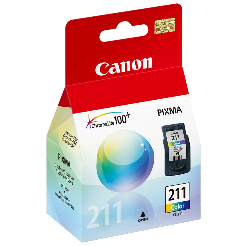 Canon CL-211 Ink Cartridge - Colour