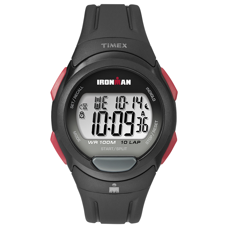 Timex Men's Ironman 10-Lap Watch - Grey - TW5M16400GP
