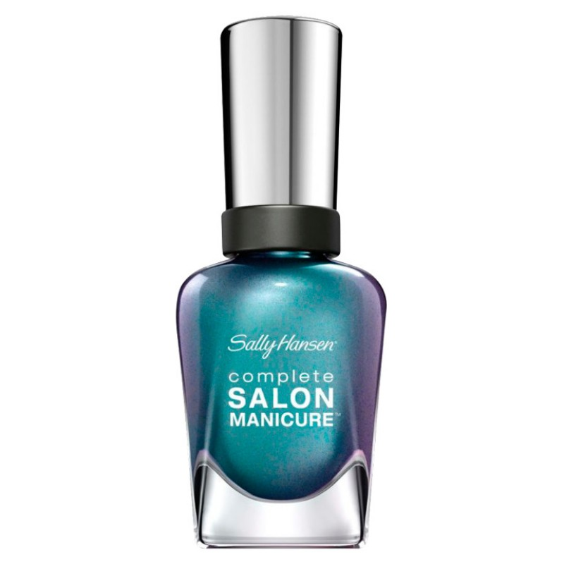 Sally Hansen Complete Salon Manicure Nail Polish - Black and Blue