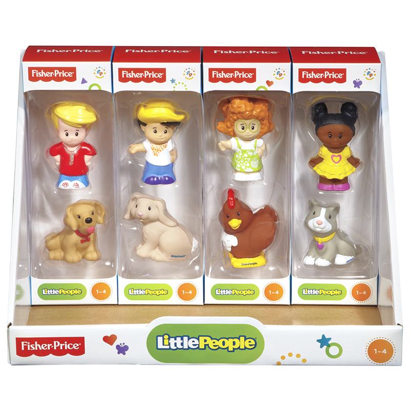 Fisher Price Little People Farmhouse Figures - 2 pack - Assorted