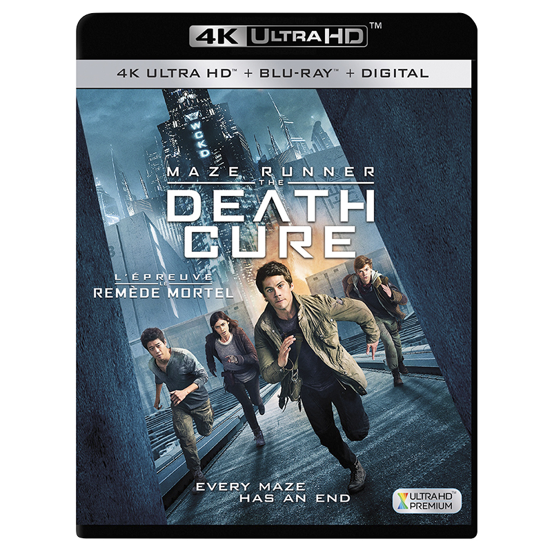 Maze Runner: The Death Cure - 4K UHD Blu-ray