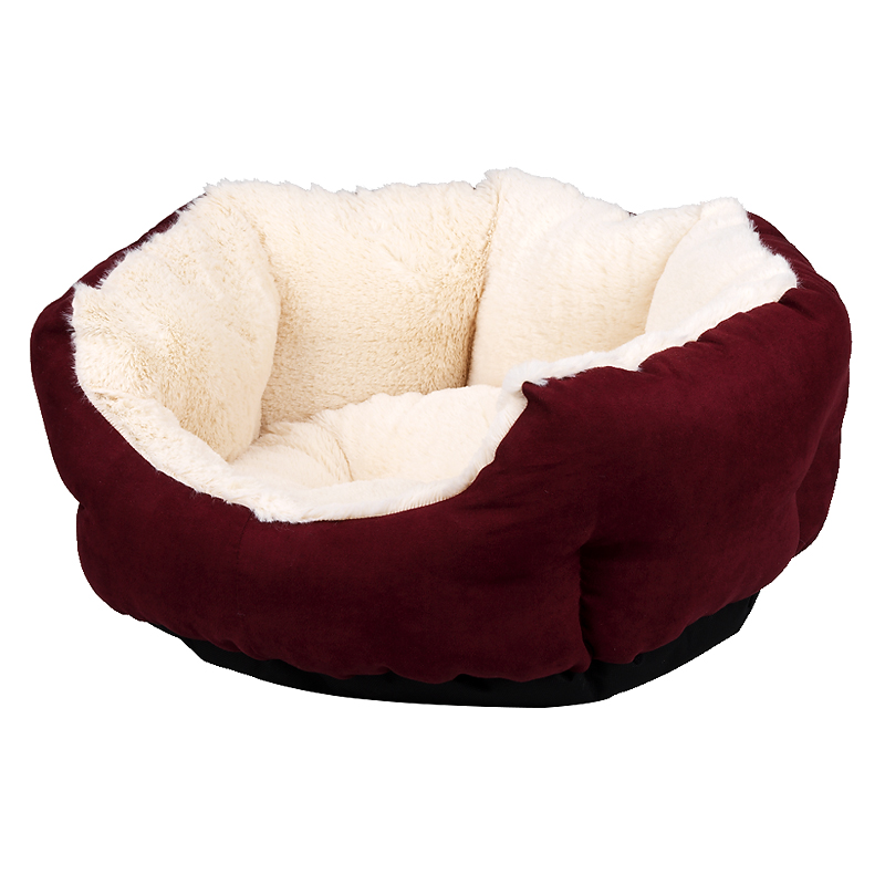 London Drugs Deluxe Fleece Pet Bed - Small