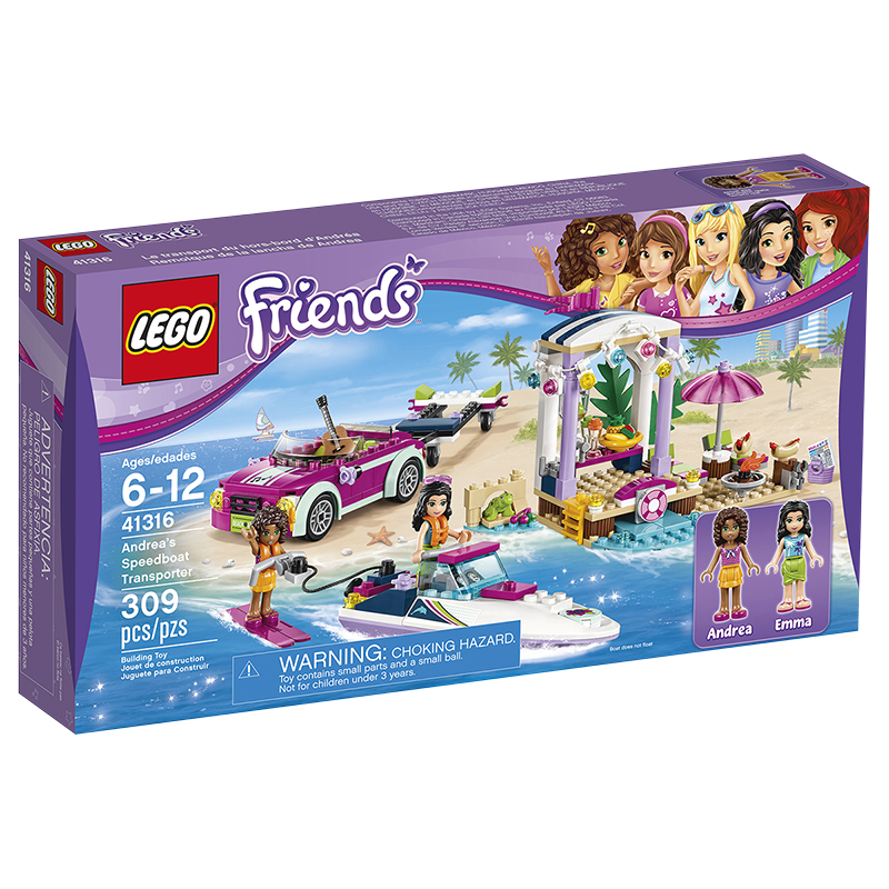 LEGO® Friends - Andrea's Speedboat Transporter