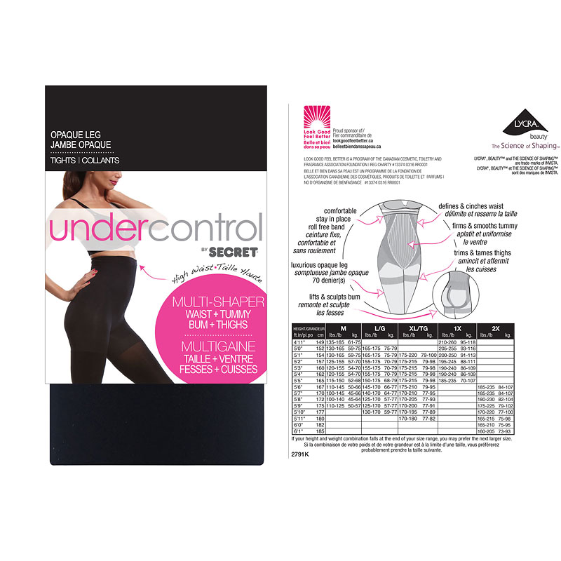 Secret Undercontrol Multi Shaper High Waist