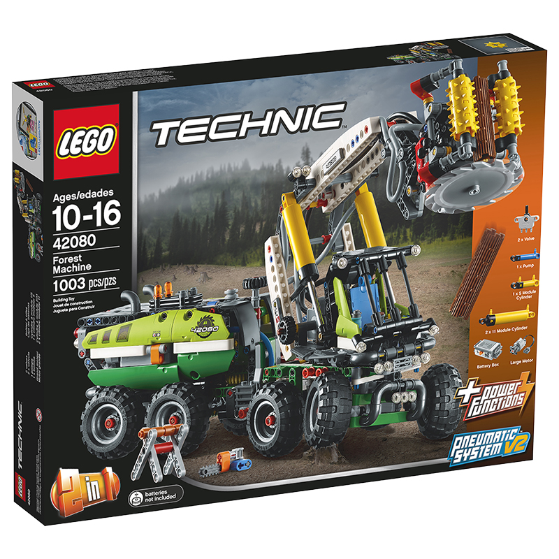 Lego Technic Forest Machine 42080 London Drugs