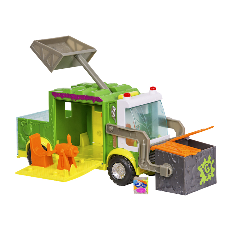 The Grossery Gang Muck Chuck Garbage Truck Set