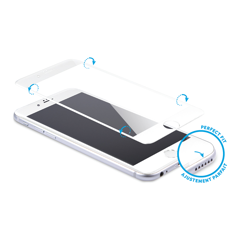 Logiix Phantom Glass Arc for iPhone 6/6S - White - LGX12178