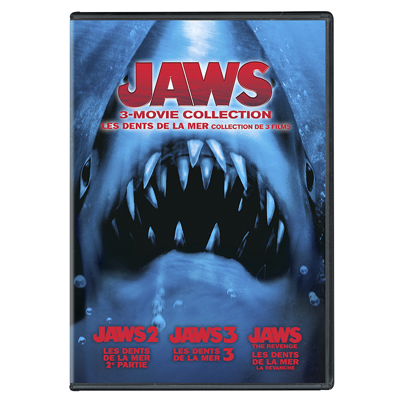 Jaws 3-Movie Collection - DVD