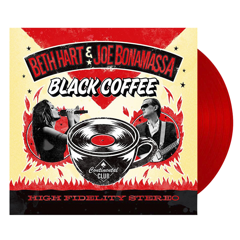 Beth Hart and Joe Bonamassa - Black Coffee - 2 LP Vinyl