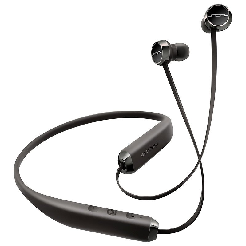 Sol Republic Shadow Bluetooth Earbuds - Black - SR114001