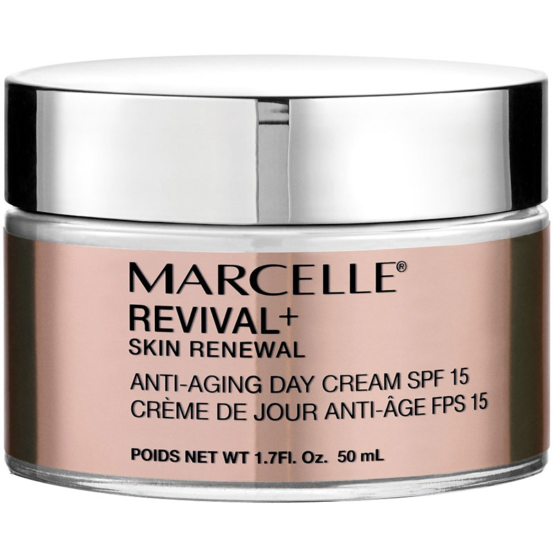 Marcelle Revival+ Skin Renewal Anti-Aging Day Cream SPF 15 - 50ml