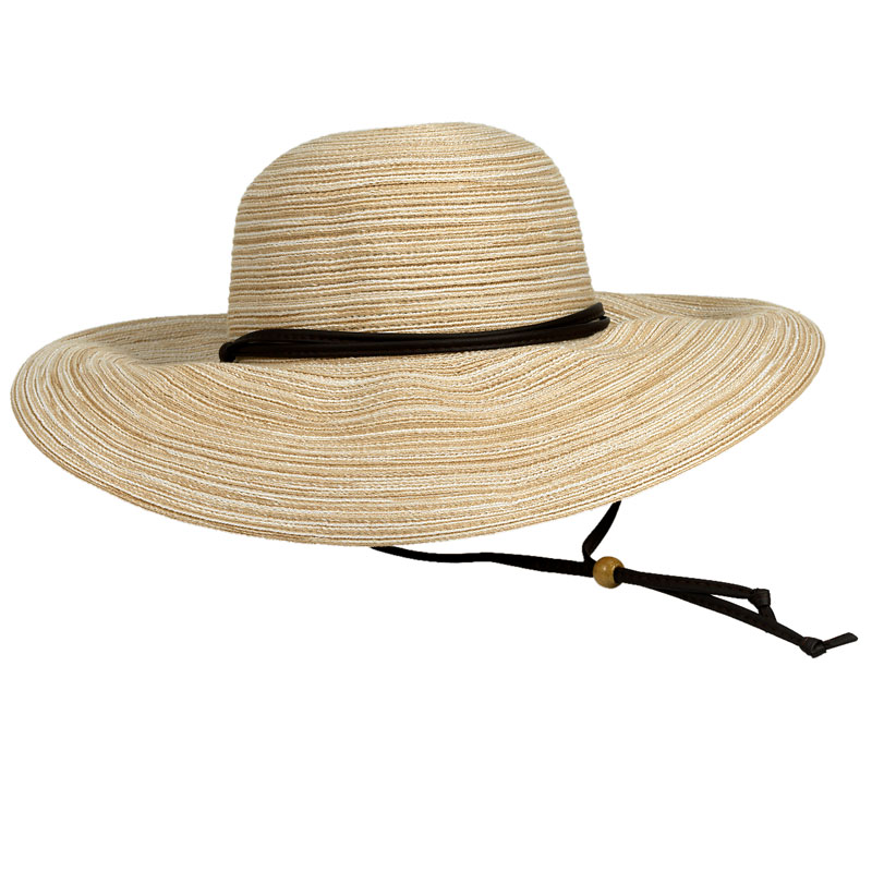 Sloggers Braided Wide Hat - Earth Stone