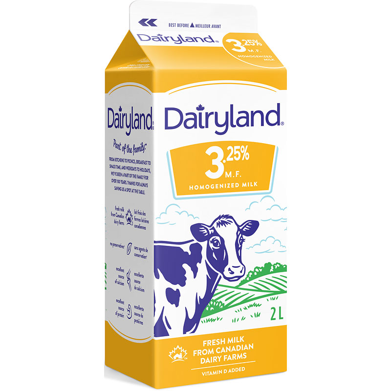 Dairyland Homo Milk - 2L