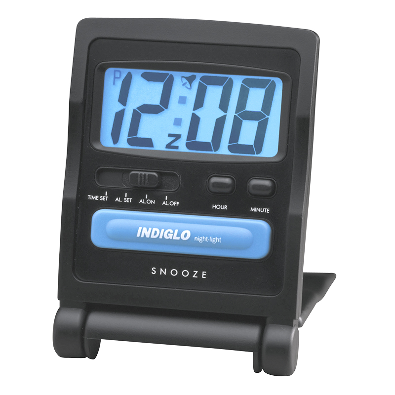 Timex Digital Travel Alarm Clock - Black - 3502TW