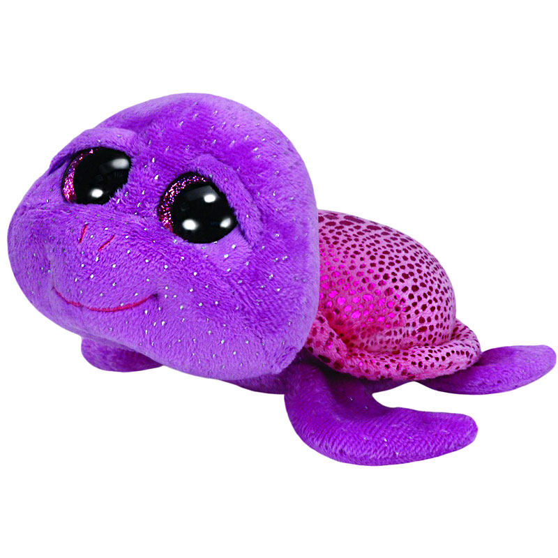 Ty Beanie Boos - Slowpoke the Purple Turtle
