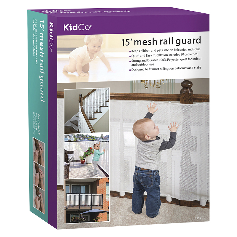 Kidco 15' Mesh Rail Guard - White - S305