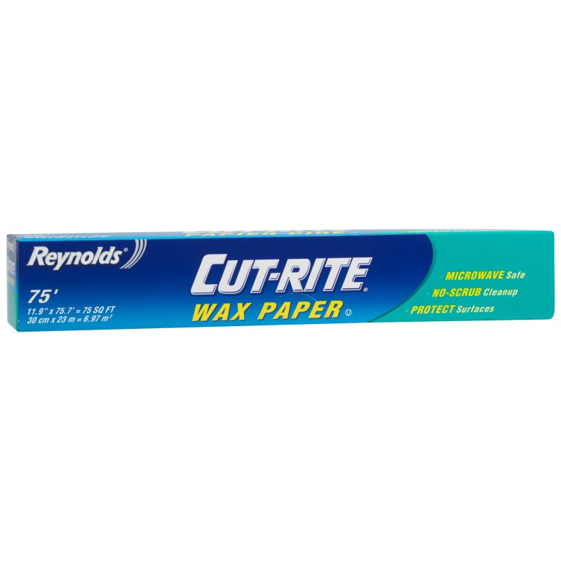Reynolds Cut-Rite Wax Paper - 12 inch x 75 feet