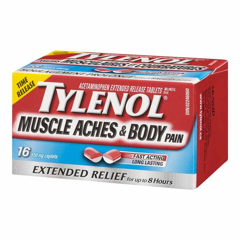 Tylenol* Muscle Aches & Body - 16's