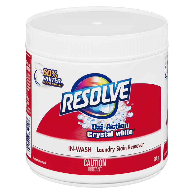 Resolve Oxi-Action In-Wash Laundry Stain Remover Powder - 765g