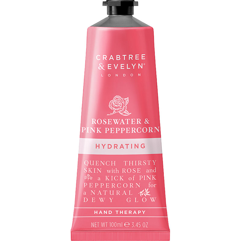 Crabtree & Evelyn Rosewater & Pink Peppercorn Hydrating Hand Therapy - 100g