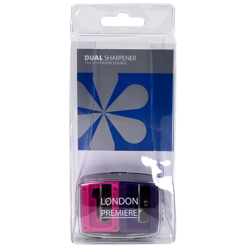 London Premiere Dual Sharpener - Fuchsia