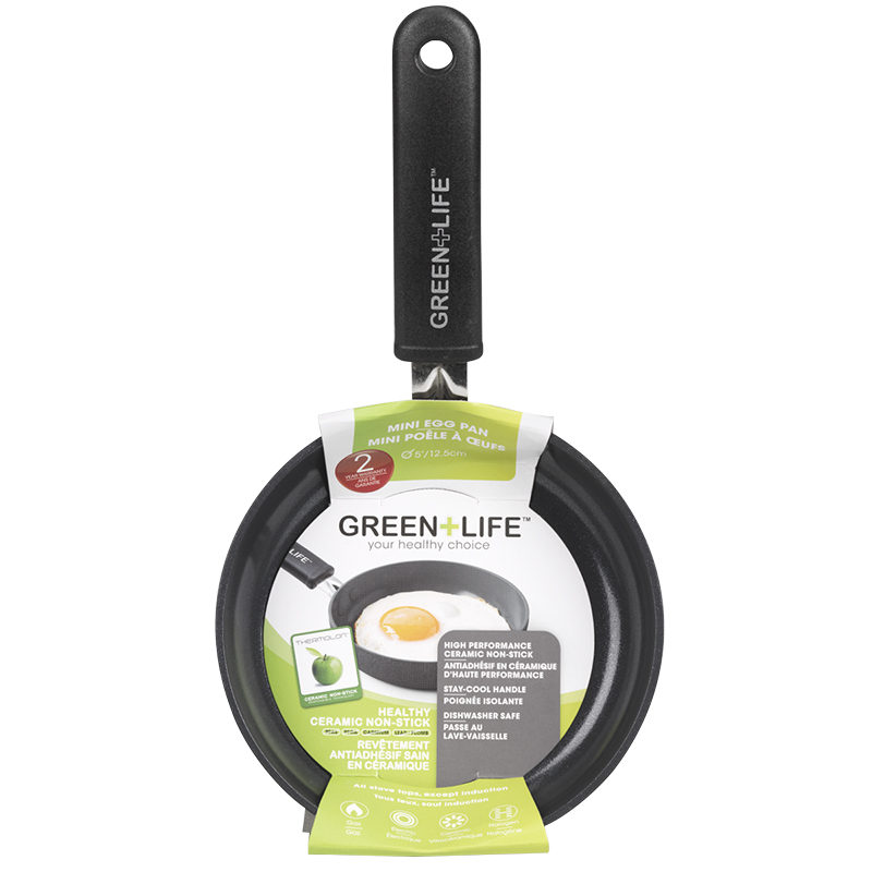 Green Life Soft Grip Diamond Fry Pan - 5in
