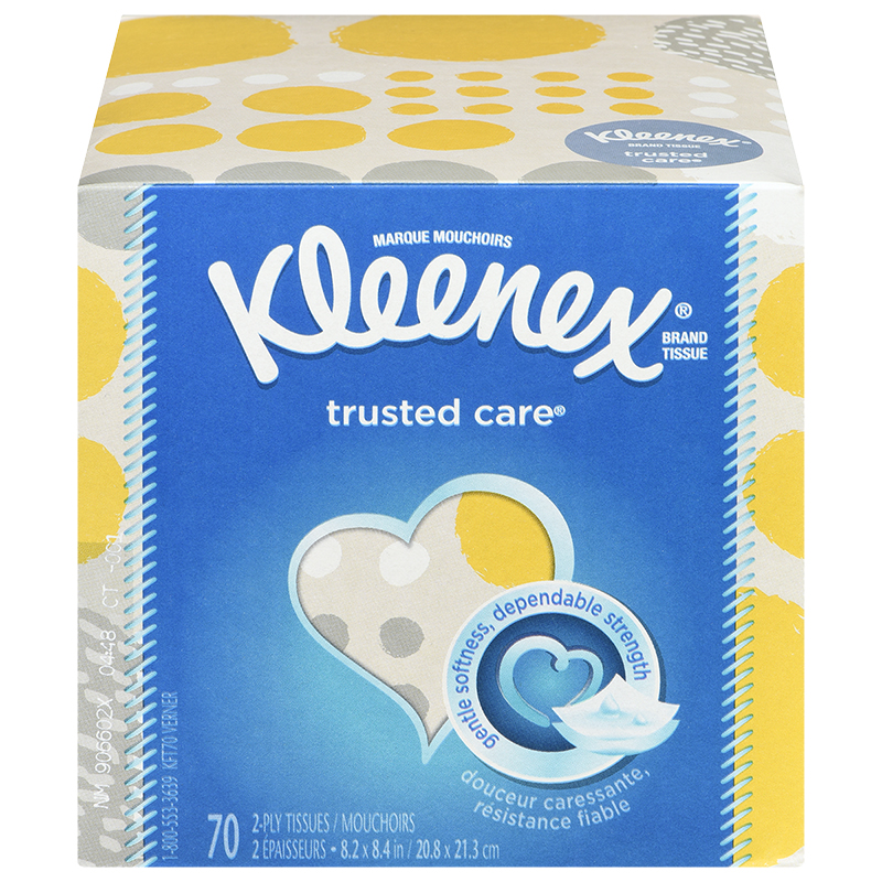 Kleenex Trusted Care 2 Ply Tissue - 70's