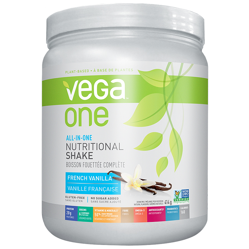 Vega One All-in-One Nutritional Shake - French Vanilla - 414g