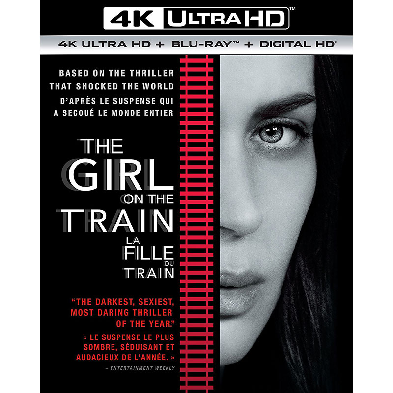 The Girl On The Train - 4K UHD Blu-ray