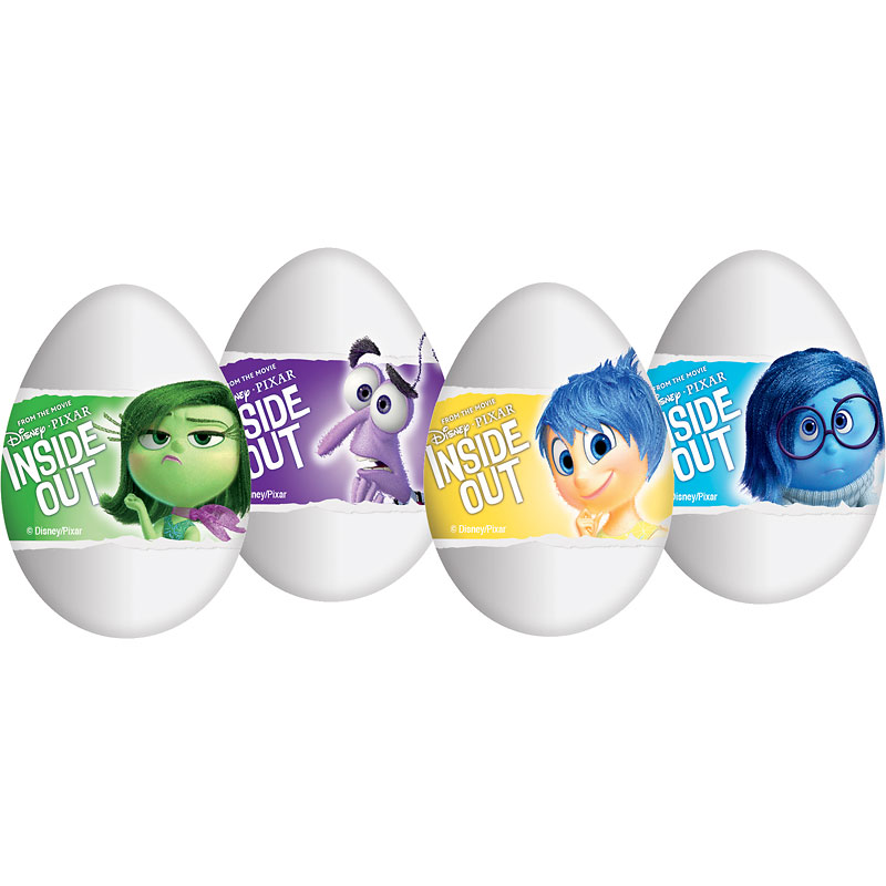 Zaini Inside Out Chocolate Egg - Assorted - 20g