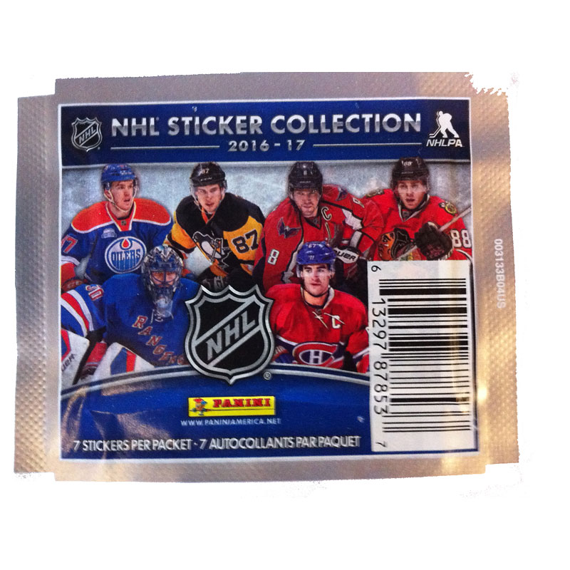 2016 NHL Stickers