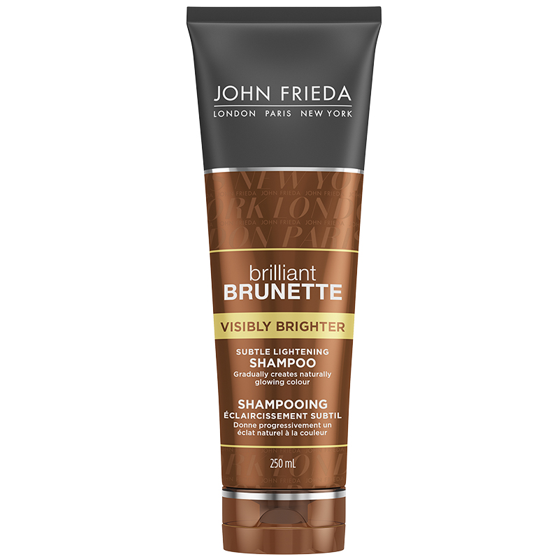 John Frieda Brilliant Brunette Visibly Brighter Shampoo - 250ml