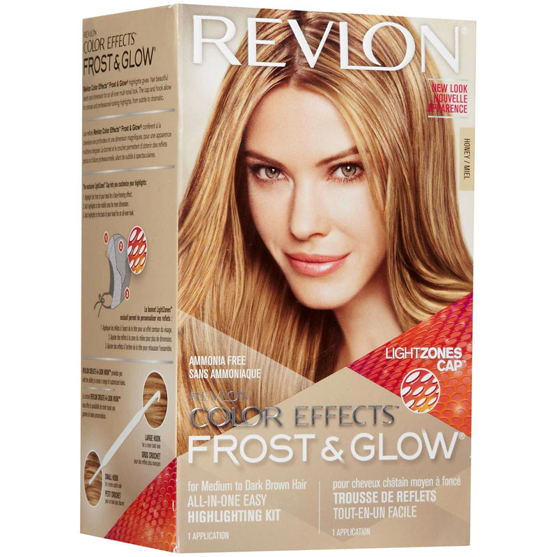Revlon Frost Glow Color Effects Medium To Dark Brown Honey