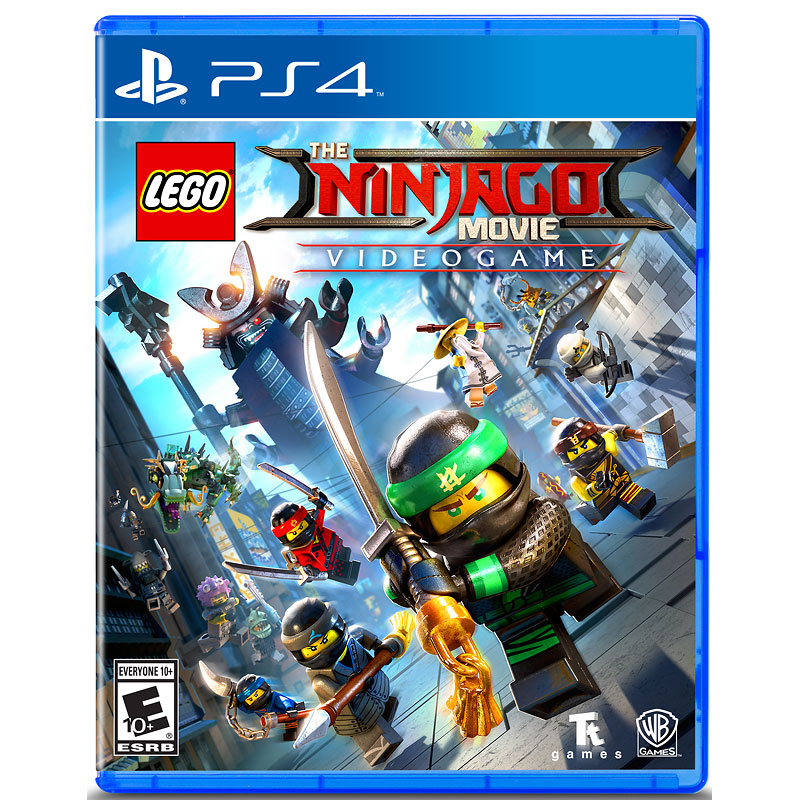 PS4 Lego Ninjago Movie Video Game