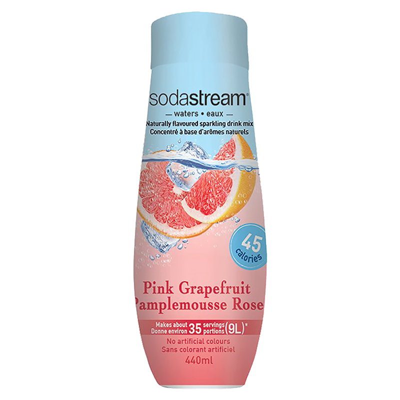 SodaStream Waters - Pink Grapefruit - 440ml