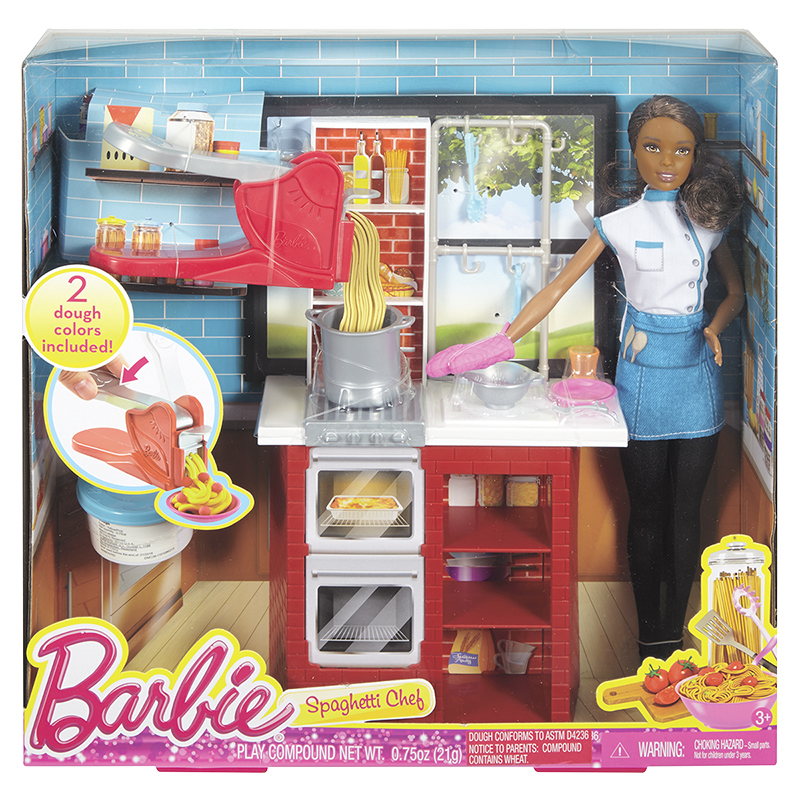 Barbie Spaghetti Chef Doll Set