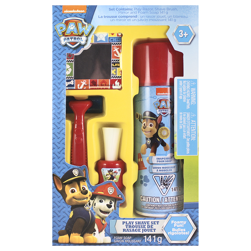 Nickelodeon Paw Patrol Play Shave Set