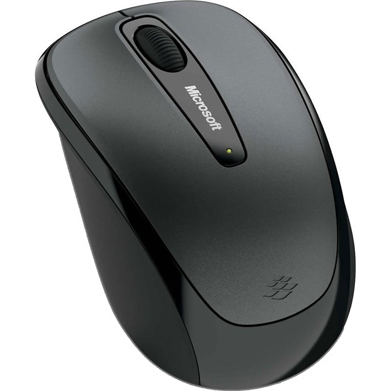 Microsoft Wireless Mobile Mouse 3500 - Grey - GMF-00009